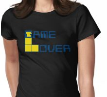 Game Over Lame Lover! Womens Fitted T-Shirt