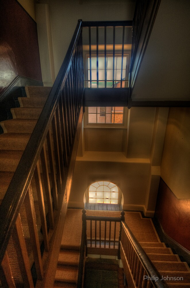 Upstairs Downstairs - Hyde Park Barracks -The HDR Experience by Philip Johnson