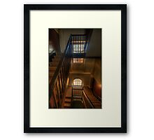 Upstairs Downstairs - Hyde Park Barracks -The HDR Experience Framed Print