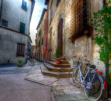LUCCA STREET SCENE by clint hudson