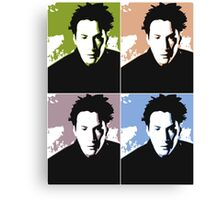 Keanu Reeves in the Matrix, 4 Colors Canvas Print