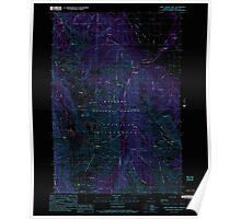 USGS Topo Map Oregon Chief Joseph Mtn 279332 1990 24000 Inverted Poster