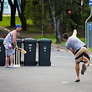 Street Cricket by Daniel Peut