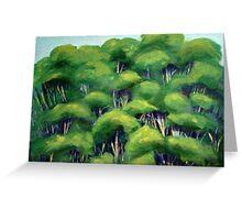 Treetops Greeting Card