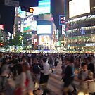 Shibuya Crossing by Alan Gamble