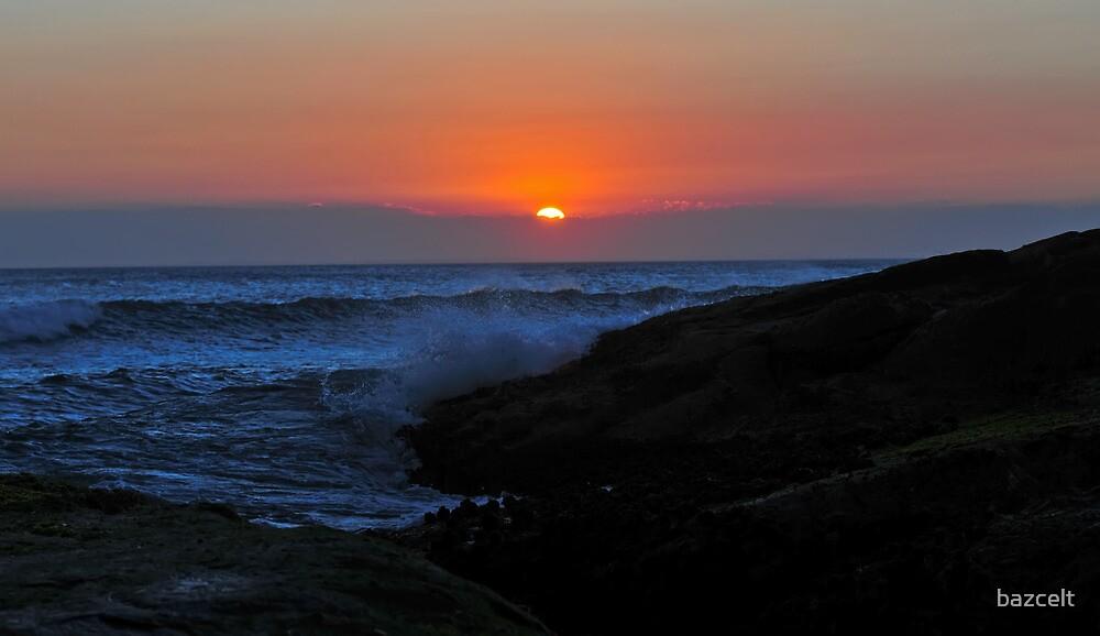 Sunset on Anna Bay by bazcelt