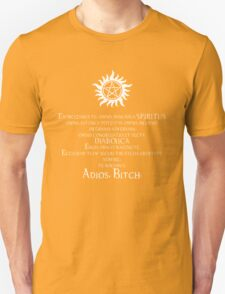 Supernatural Adios Bitch Exorcism Unisex T-Shirt