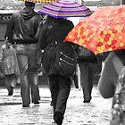 Walking in the rain by Geoff Carpenter