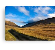 Looking Towards Wrynose Pass Canvas Print