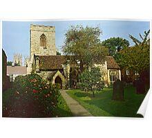 Holy Trinity Church, York, UK. Poster
