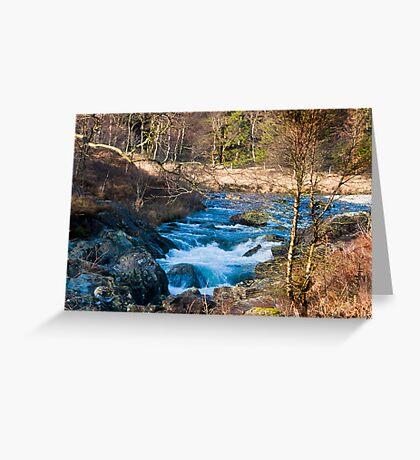 River Duddon above Birks Bridge Greeting Card