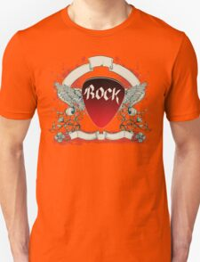 Rock and Roll Guitar Pick Wings T-Shirt