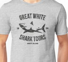 Great White Shark Tours (worn look) Unisex T-Shirt