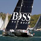 yacht hugo boss  by martinberry