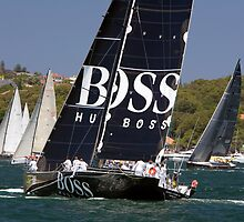 yacht hugo boss  by Martin Berry Photography