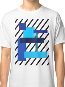 Blue squares of blue! Classic T-Shirt