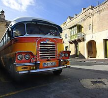 A famous Maltese Bus by ladyzaza