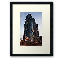 Robinson Building Framed Print