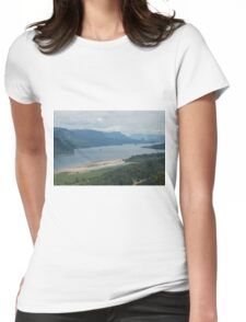 Columbia River Womens Fitted T-Shirt