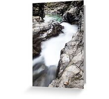 Ueble Schlucht Austria IX Greeting Card