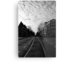 New Year's Day in Amsterdam Metal Print