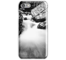 Ueble Schlucht Austria VIII B&W iPhone Case/Skin