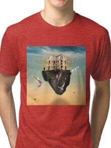 the rock  Tri-blend T-Shirt