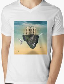 the rock  Mens V-Neck T-Shirt