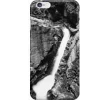 Ueble Schlucht Austria VII B&W iPhone Case/Skin
