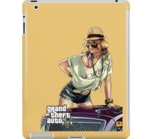 Grand Theft Auto V - Posing Girl 2 iPad Case/Skin