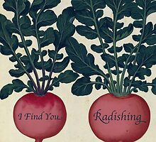 I Find You Radishing by RoseJermusyk