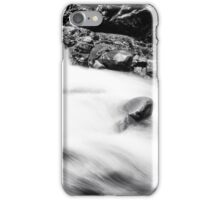 Ueble Schlucht Austria VI B&W iPhone Case/Skin