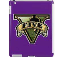 Grand Theft Auto V Golden Symbol iPad Case/Skin