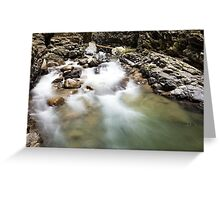 Ueble Schlucht Austria V Greeting Card