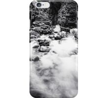 Ueble Schlucht Austria IV B&W iPhone Case/Skin