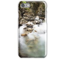 Ueble Schlucht Austria IV iPhone Case/Skin