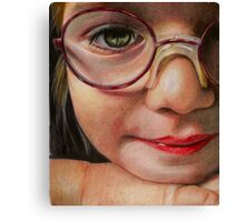 Glasses Canvas Print