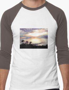 Tropical Sunset Men's Baseball ¾ T-Shirt