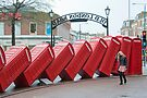 Lean on Me: Telephone Boxes: Kingston, UK. by DonDavisUK