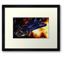 Mapping The Nebular Framed Print