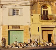 The end of the day for the Marsaxlokk fishermen  by ladyzaza