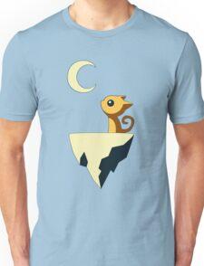 Moon Cat Unisex T-Shirt