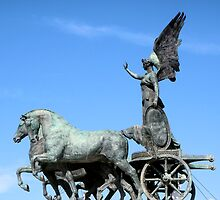 Blue Quadriga by StapleDesigns
