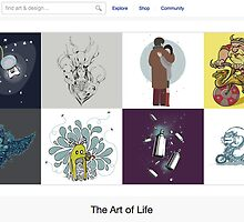 13 January 2011 by The RedBubble Homepage