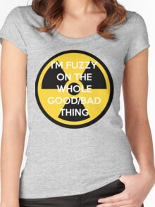 I'm Fuzzy On The Whole Good/Bad Thing Women's Fitted Scoop T-Shirt
