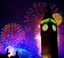 Happy New Year !! by Colin J Williams Photography