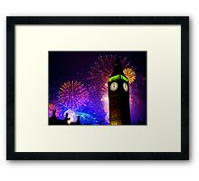 Happy New Year !! Framed Print