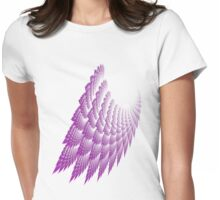 MAUVE LACE  Womens Fitted T-Shirt