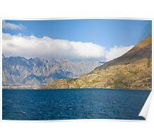 Lake Wakatipu Queenstown Poster