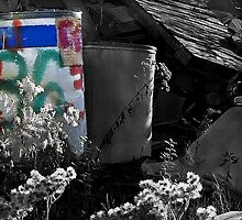 86 This Dump and the Weeds That Came With It by paintingsheep